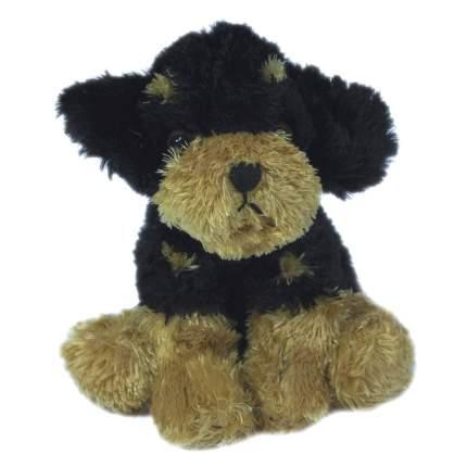 Мягкая игрушка Teddykompaniet щенок 17 см, бежево-черный,2008