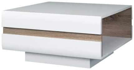 Журнальный столик Hoff Linate 80274648 75х75х39 см, белый/сонома/трюфель