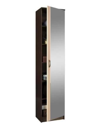 Платяной шкаф MFMaster МСТ-ПДО-Ш1-З1 35х45х200, венге/дуб молочный
