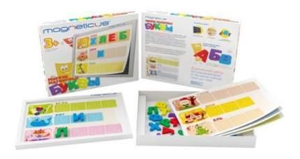 Игровой набор мягкая магнитная азбука буквы и звуки