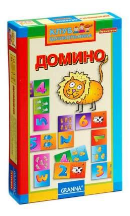 Настольная игра Bondibon домино , из серии клуб дошкольника