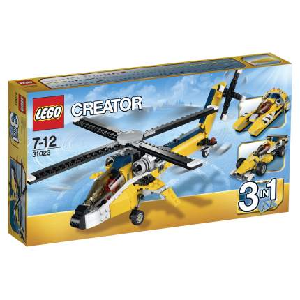 Конструктор LEGO Creator Жёлтый скоростный вертолет (31023)