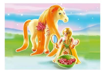 Принцессы: принцесса санни с лошадкой