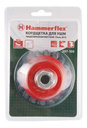 Чашечная кордщетка для угловых шлифмашин Hammer 32437