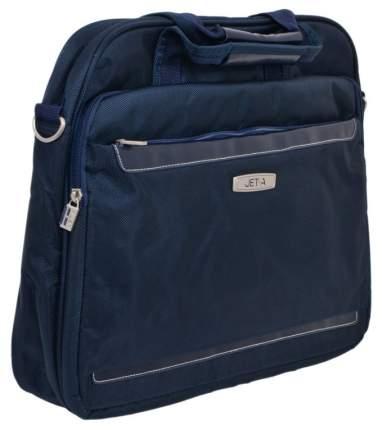 """Сумка для ноутбука 15.6"""" Jet.A LB15-49 темно-синяя"""