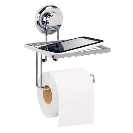 Держатель для туалетной бумаги Tatkraft Mega Lock 11908 Хром