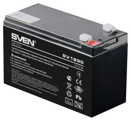 Аккумулятор для ИБП SVEN SV 1290 (12V 9Ah), F1