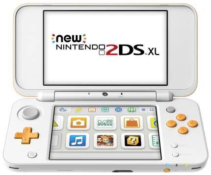 Портативная игровая консоль Nintendo 2DS XL White/Orange (JAN-S-OAAB)