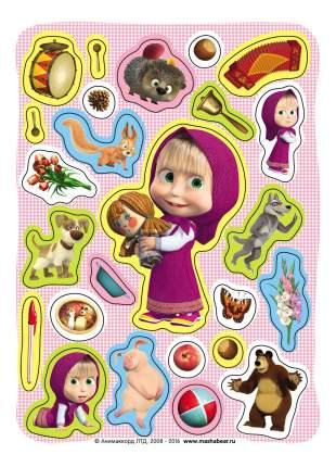 Наклейка декоративная для детской комнаты Росмэн Маша и Медведь