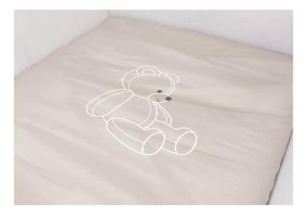 Комплект детского постельного белья Polini Бежевый