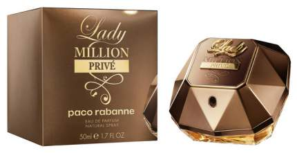 Парфюмерная вода Paco Rabanne Lady Million Prive 50 мл