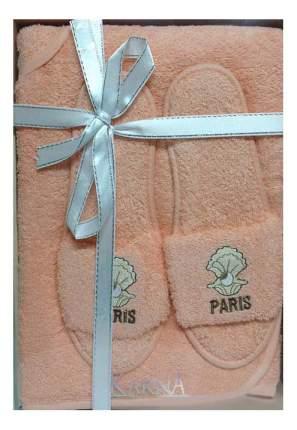 Набор для бани KARNA Paris абрикосовый