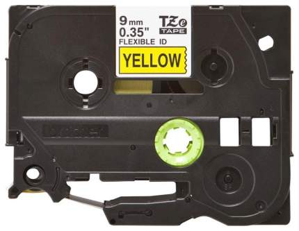 Лента ламинированная Brother TZe-FX621 Желтый, черный