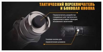 Туристический фонарь Fenix TK15UE черный, 4 режима