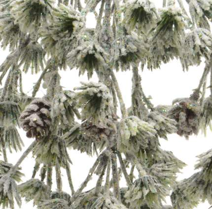 Kaemingk Гирлянда Пихта заледеневшая 110 см с шишками 629060