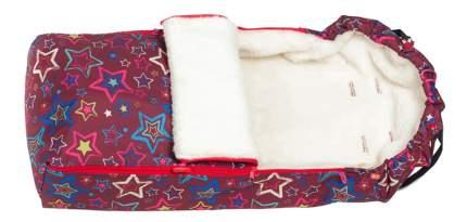 Зимний меховой конверт Звезды меховой Чудо Чадо ККМ14-001