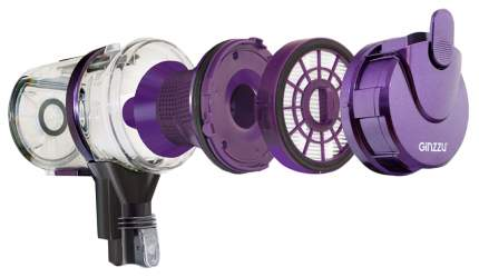 Вертикальный пылесос Ginzzu  VS401 Purple