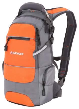 Рюкзак Wenger Narrow Hiking Pack серый/оранжевый 22 л