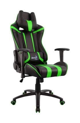 Игровое кресло AeroCool AC120 AIR, зеленый/черный