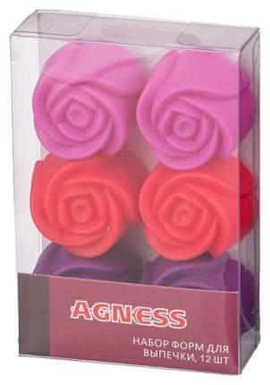 Набор форм Agness 710-324 Красный, розовый, фиолетовый