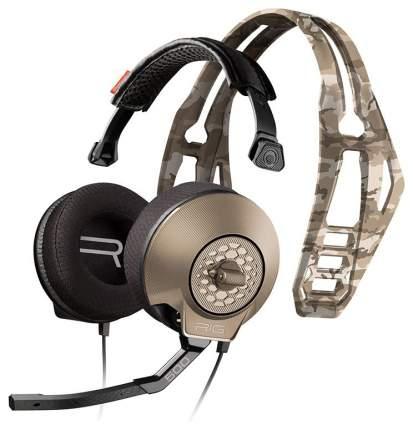 Игровые наушники Plantronics RIG 500HX CAMO Brown/Grey