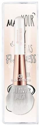 Кисть косметическая плоская для пудры Essence FIat Powder Brush