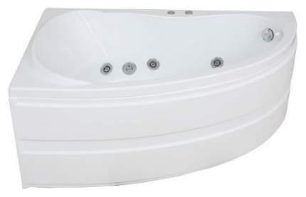 Акриловая ванна BAS Алегра 150х90 c гидромассажем FLAT левая