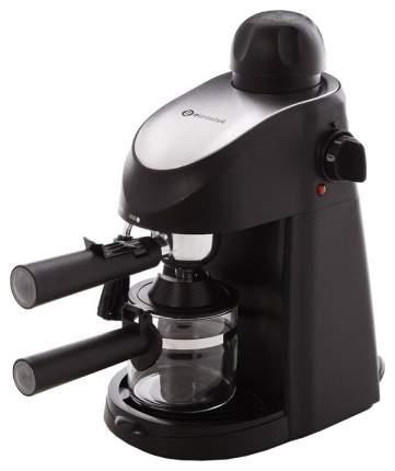 Рожковая кофеварка Eurostek ECM-6816 Silver/Black