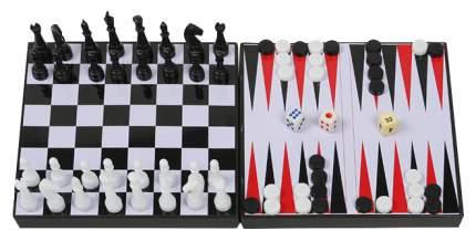 Семейная игра Наша Игрушка 3 в 1 магнитные шахматы шашки нарды 276146R