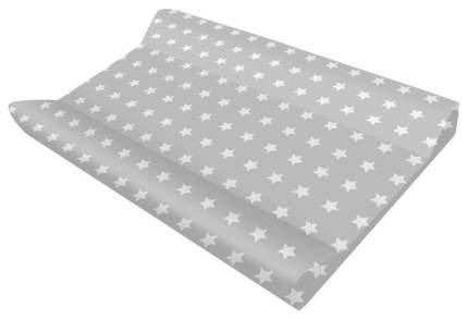 Пеленальная доска Polini Kids Basic Звезды 3275 белый серый