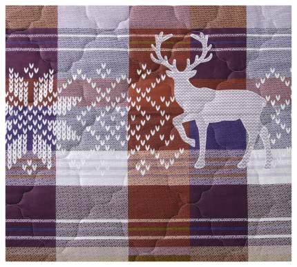 """Покрывало """"Норвегия коричневая"""" Текс-Дизайн 180х210"""