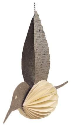 Елочная игрушка Enjoyme Bird en_ny0074 11,5 см 1 шт.
