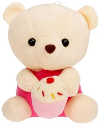 """Мягкая игрушка """"Медведь с тортом"""", 16 см"""