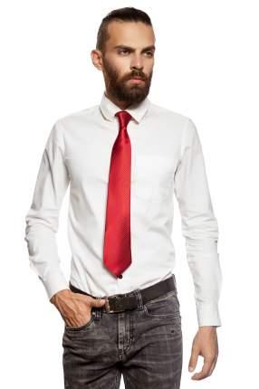 Классический галстук Колеса Фортуны в диагональную полоску Signature 204355 красный