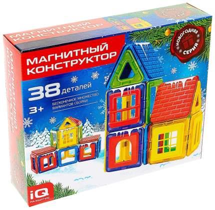 Магнитный конструктор, Новогодняя серия, 38 деталей, Sl-02721 Unicon