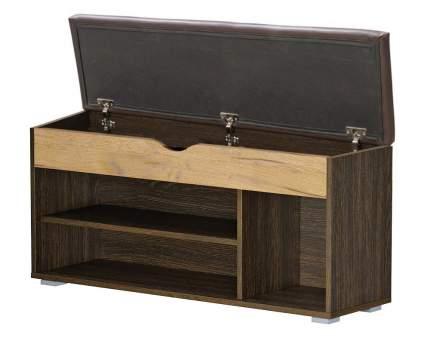Обувница Mobi Лайт 08.58 1356269 106х32х51 см, венге/дуб крафт золотой/темно-коричневый