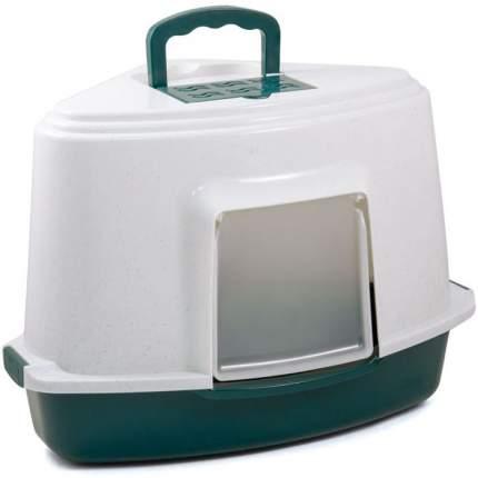 Туалет для кошек Triol LB-03, угловой, в ассортименте, 40х56,5х42,5 см