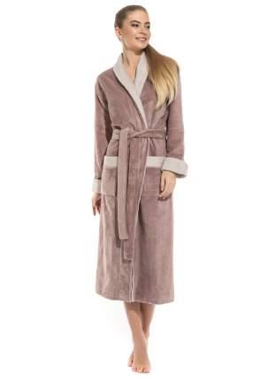 Женский бамбуковый халат Belette Peche Monnaie 735, капучино, XL