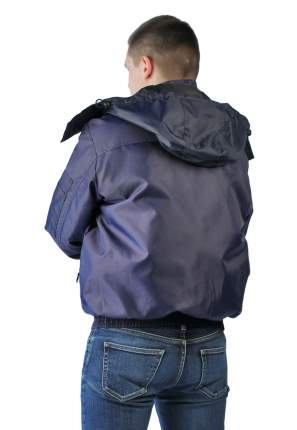 Куртка Ursus Бомбер, темно-синий, 60-62 RU, 170-176 см