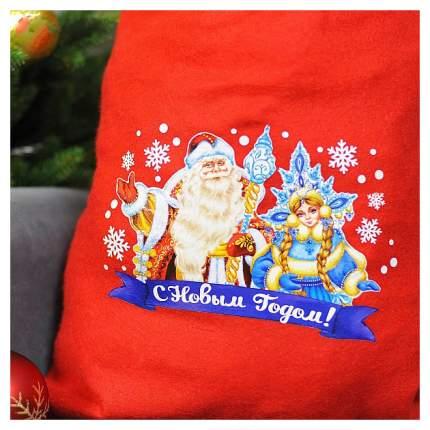 Праздничный мешок Страна Карнавалия С новым годом - Дед Мороз и Снегурочка 2226417