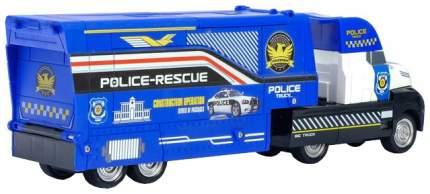 Грузовик инерционный Полиция, 3 металлические машины в комплекте Sima-Land