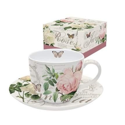 """Чашка с блюдцем """"Jardin Botanique"""""""