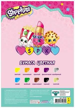 Цветная бумага РОСМЭН Shopkins 34120 10 листов