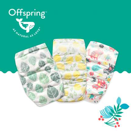 Подгузники Offspring Travel pack S 3-7 кг. 3 шт.