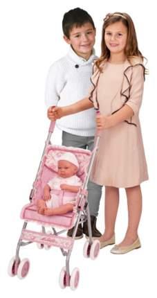 Коляска-трость для кукол DeCuevas розовая Мартина 56 см