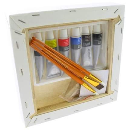 Акриловые краски Daler Rowney Canvas Mini Art SIimply 6 цветов