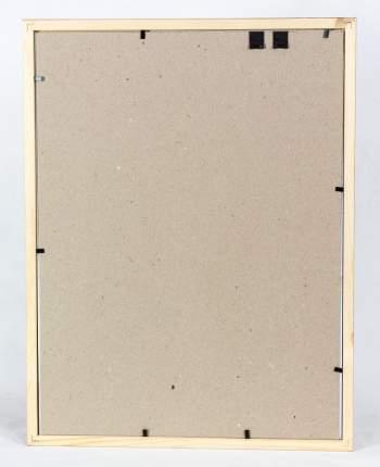 Фоторамка деревянная базового дизайна 30х40 см, Бесцветная