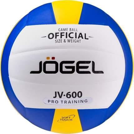 Волейбольный мяч Jogel JV-600 №5 blue/white/yellow