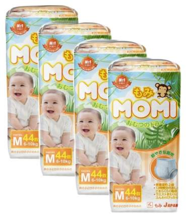 Подгузники-трусики MOMI M (6-10 кг) 44 шт