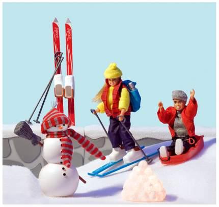 Аксессуары для домика Смоланд Зимний набор для отдыха Lundby LB_60508700
